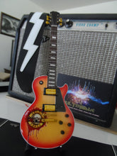 Load image into Gallery viewer, GUNS 'N' ROSES Gibson Les Paul Sunburst Tribute 1:4 Scale Replica Guitar ~New~