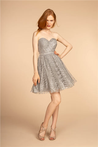 Cocktail Strapless Dress