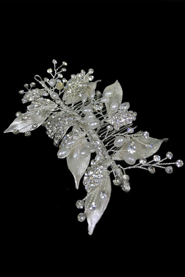 Hair Comb Communion Flower Girl Headpiece TR-0530