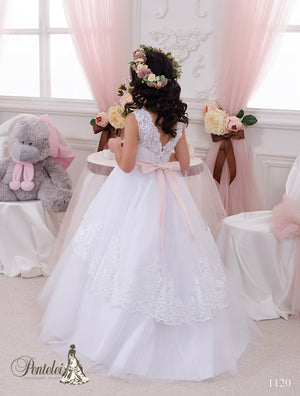 Ready to ship Pentelei 1120  Tulle and lace  Skirt Ballgown First Communion Dress