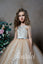 Sleeveless Fluffy Layered Skirt Lace Appliques Pentelei 2307