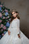 Long Sleeves Glitter  A-line  Flower Girl Dress Pentelei 2349