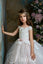 Crochet Illusion Lace Sparkle Tulle Communion Flower Girl Gown Pentelei 2367