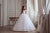 Floral Lace Ballgown Skirt  Flower Girl Communion Dress Celestial 3106