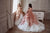 Cold Shoulders Ruffles Skirt Princess Ball Gown  Flower Girl Communion Pageant Dress 3110