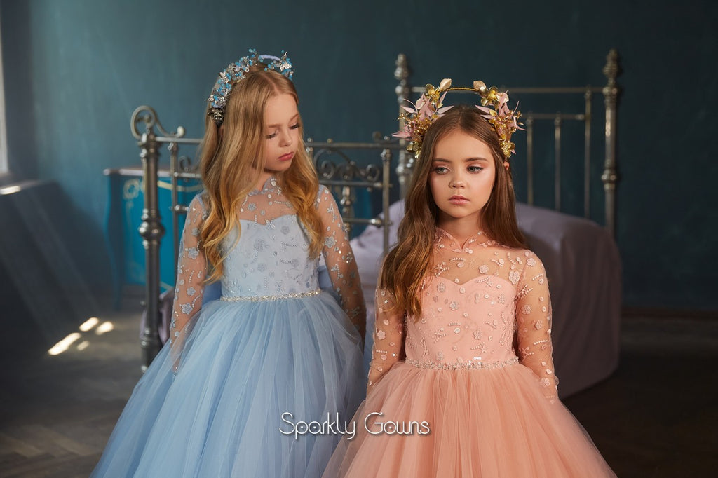 Rose Flower Girl Dress