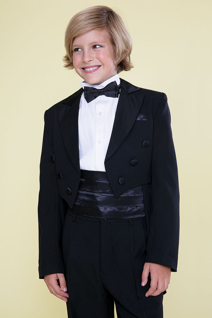 Baby Boy's Tuxedo with Tail perfect for wedding Guest, Ringer Bearer, Christening