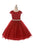 Elegant Satin and Tulle Holiday Dress for Little Girls/