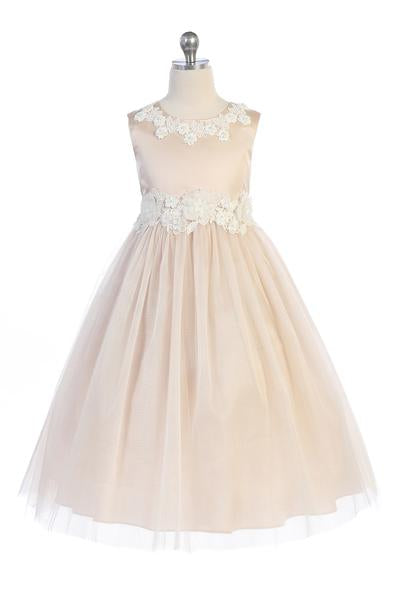 Luxurious Princess Ballgown First Communion Dress Style 458