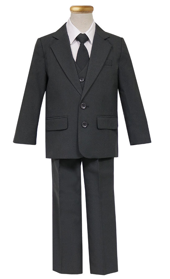 Boy's 5 pieces 2 button Suit Sizes 10- 20 for Ringer Bearer, First Communion