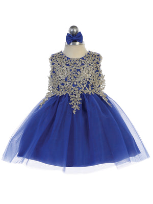 Baby Royal Blue Dress