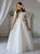 Scalloped neckline Classic and Romantic Spanish Communion Gown Marla K180