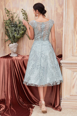 Andrea & Leo Couture A0820S CASSIA TEA LENGHT DRESS