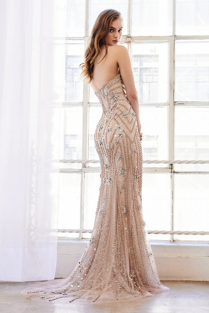 Sweetheart strapless Mermaid Venus Gown Andrea & Leo A0961