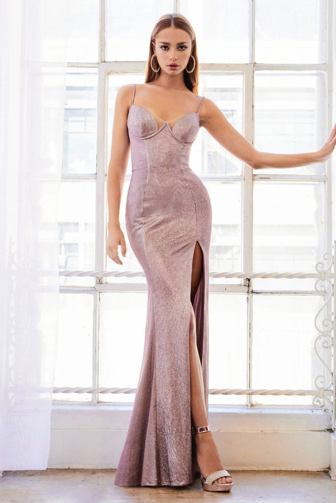 Sweetheart Fitted Strech Sibil Andrea & Leo Couture A0999  Evening Gown.