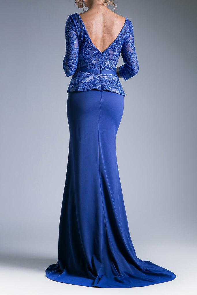 Andrea & Leo Couture Royal Long Evening Dress A5006