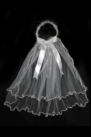 Veil with Crown MV-12