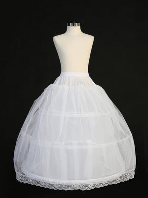 3 Hoops Petticoat with Crinoline P8-3