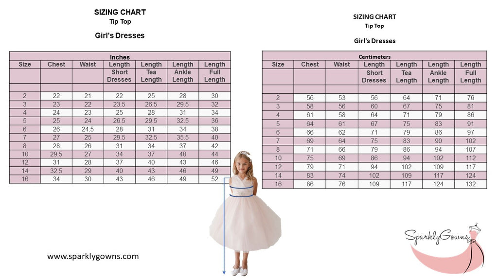 Glitter Ball Gown with Tail Silver Tip Top Kids 5804