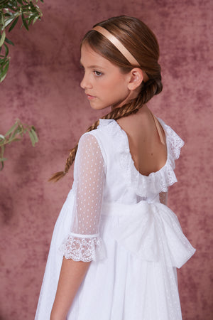 White Communion Gown