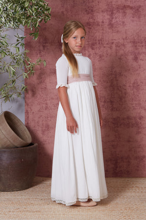 Sleeves Communion Gown