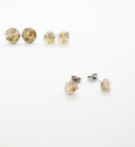 Load image into Gallery viewer, raw citrine studs
