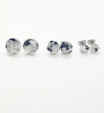 Load image into Gallery viewer, raw moonstone studs