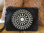 Mandala Clutch Bag - Hide