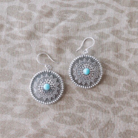 SS Indah Earrings - Turquoise