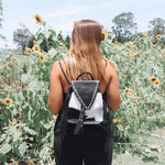 Phoenix Backpack - B/W Studded