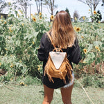 Phoenix Backpack - Natural Leather