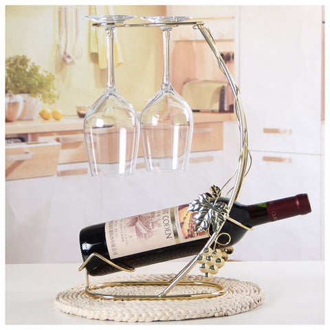 Bottle and Glass Holders - Free Shipping - Gotes de Vi