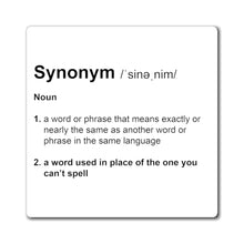 Load image into Gallery viewer, Synonym Definition - Funny Magnet