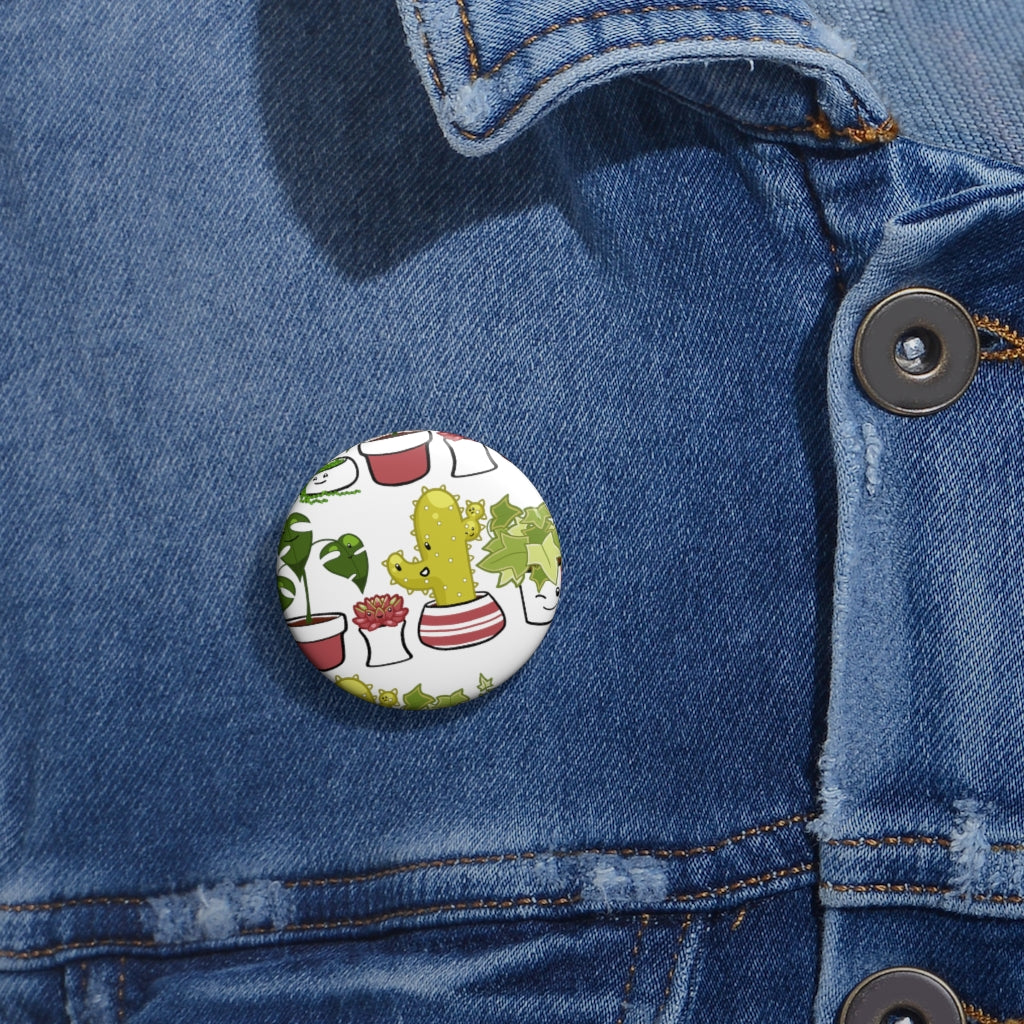 Cute Plants Button
