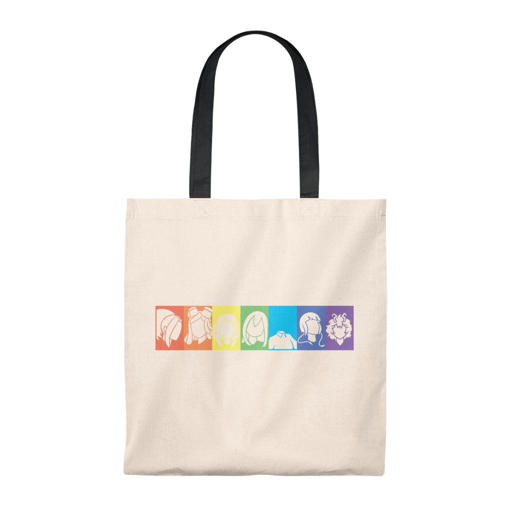 My Rainbow Heroines Academia - Boku No Hero Academia Tote Bag