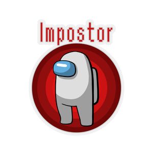 Impostor - Among Us Vinyl Sticker
