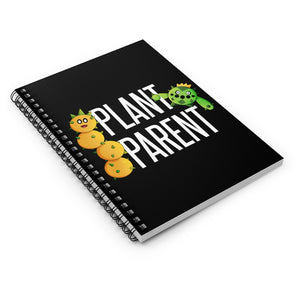 Plant Parent - Mario/Pokemon Spiral Notebook - Ruled Line