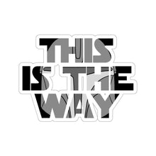 "Load image into Gallery viewer, ""This is the Way"" - Star Wars: The Mandalorian Vinyl Sticker"