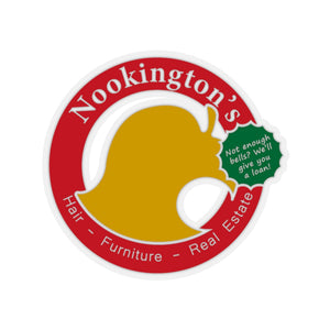 Nookington's - Animal Crossing Vinyl Sticker