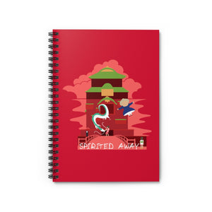 Spirited Away - Studio Ghibli Spiral Notebook - Ruled Line