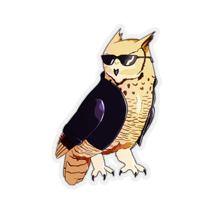 Hardcore Owl - Animal Sticker