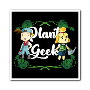 Plant Geek - Harvest Moon/Animal Crossing Magnet