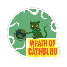 Load image into Gallery viewer, Cathulhu - Cthulhu & Animal Pun Vinyl Sticker