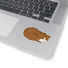 Load image into Gallery viewer, Sleeping Kitten Vinyl Sticker
