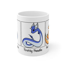 Load image into Gallery viewer, Evolution of Noodle - Pokemon Mug 11oz