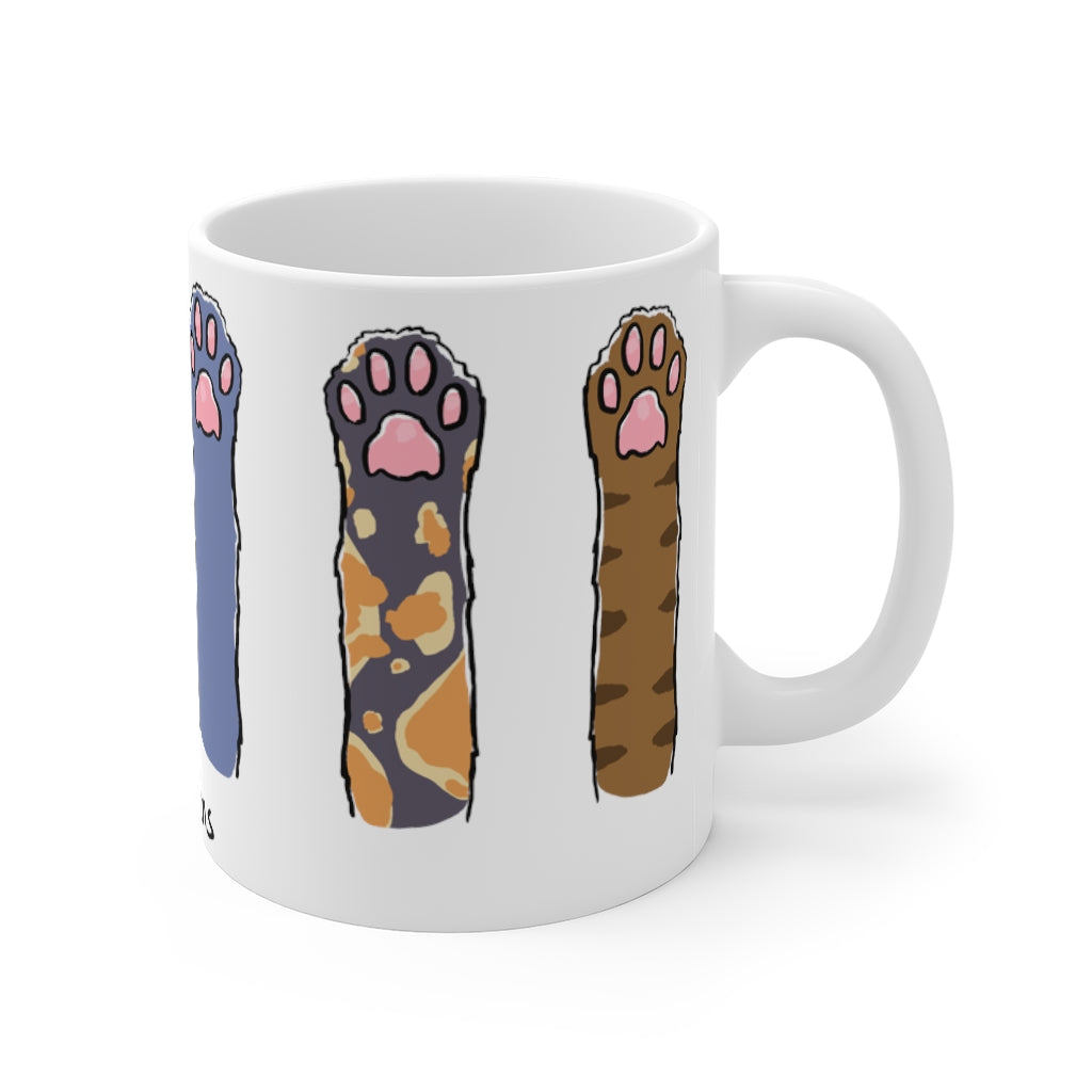 Cat Beans - Cute Animal 11oz Mug