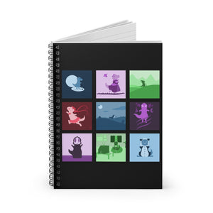 T-Rex Collection Dinosaur Spiral Notebook - Ruled Line