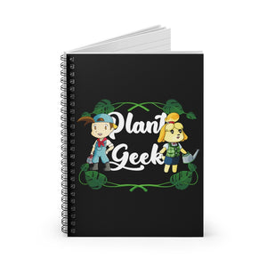 Plant Geek - Harvest Moon/Animal Crossing Spiral Notebook - Ruled Line