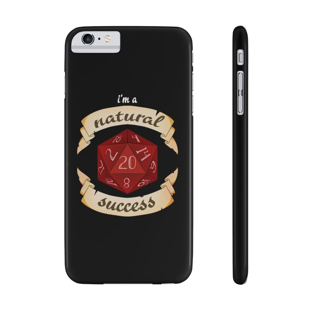 Natural Success Phone Case