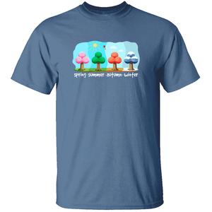 The Four Seasons - Animal Crossing T-Shirt